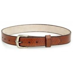 Basket Design Leather Belt