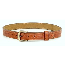 Ethnic Design Leather Belt
