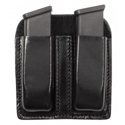 Leather Open Double Mag Pouch