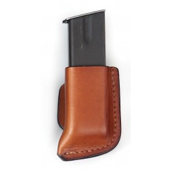 Leather Single Mag Pouch - Open Top
