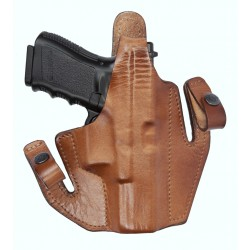 Deep Concealment Tuckable Holster with Thumb Strap