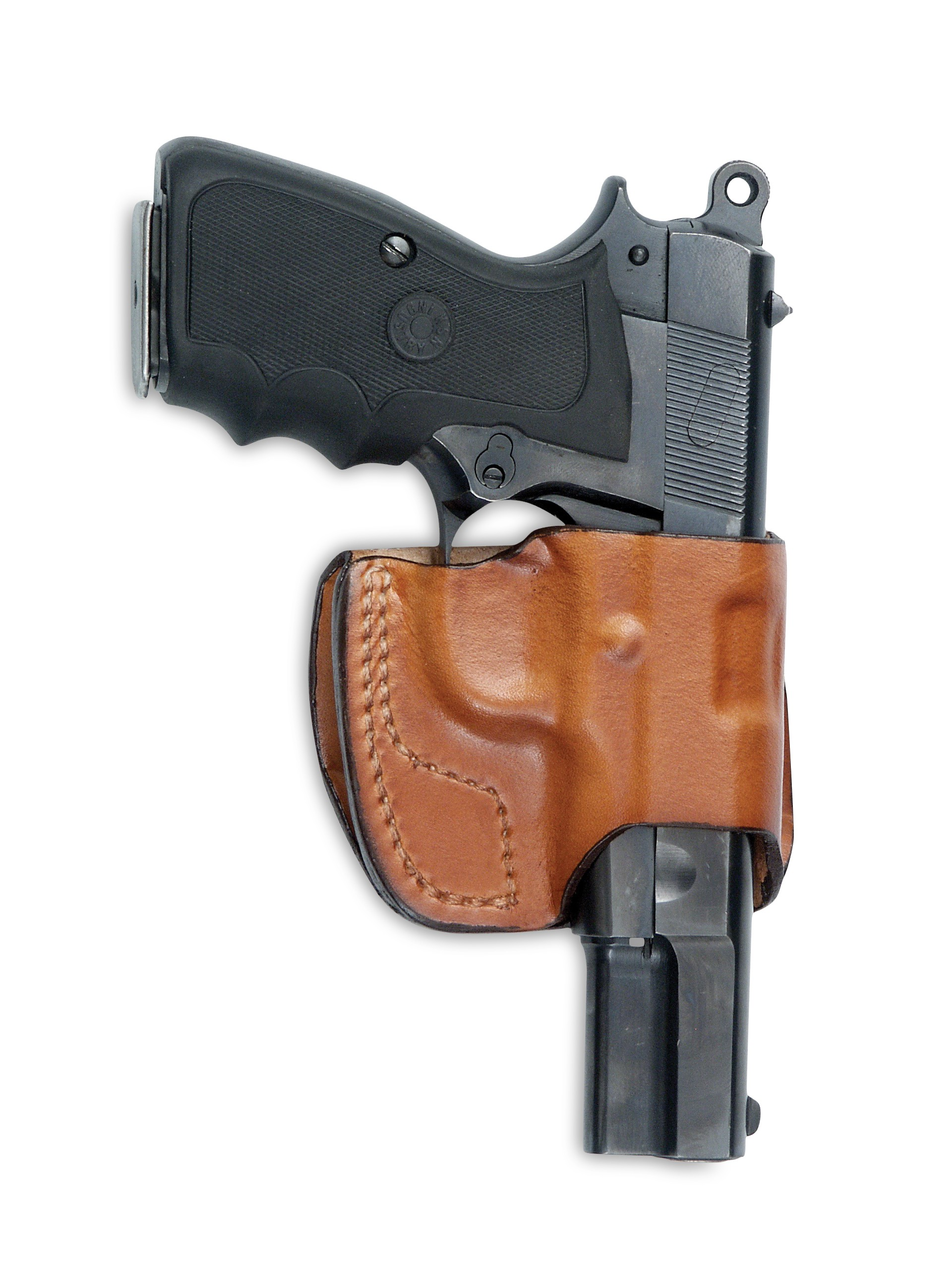 Leather OWB Compact Holster