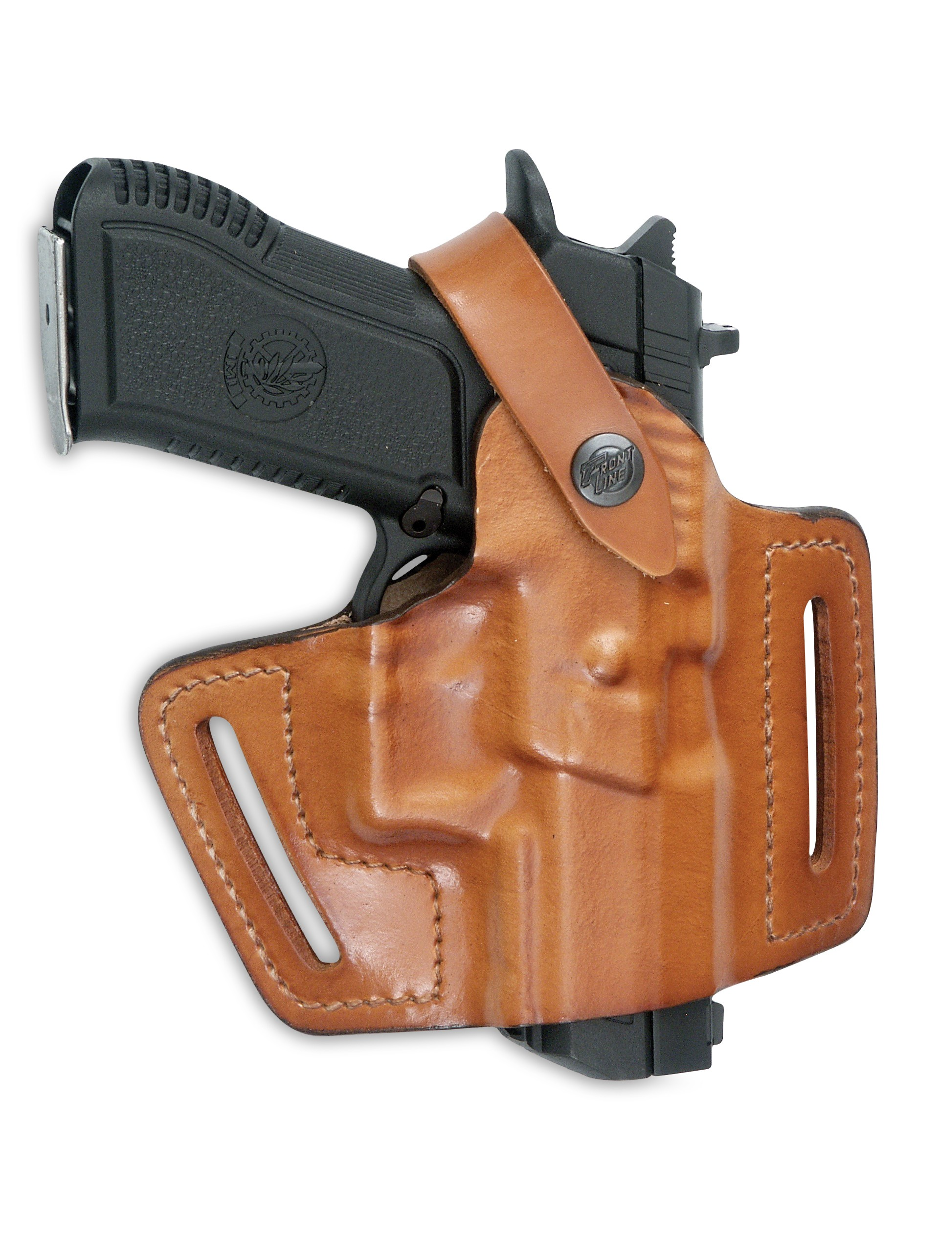 Half-Pancake Leather Holster