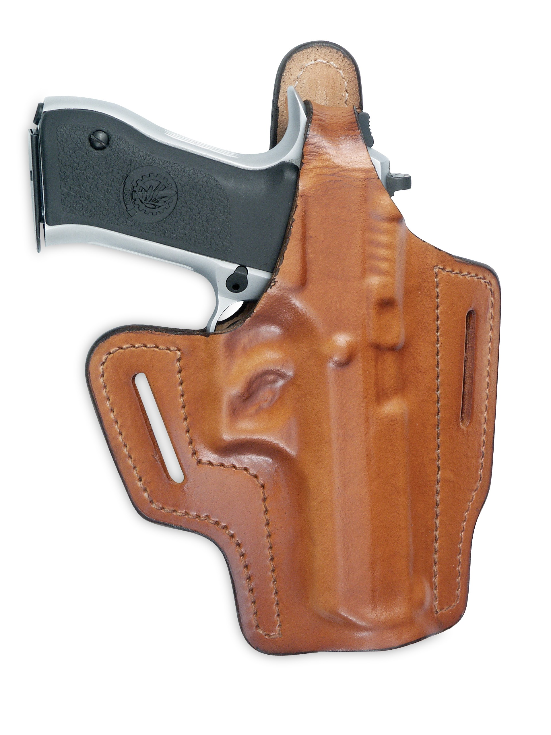 Fast-Draw Regular Pancake Leather Holster