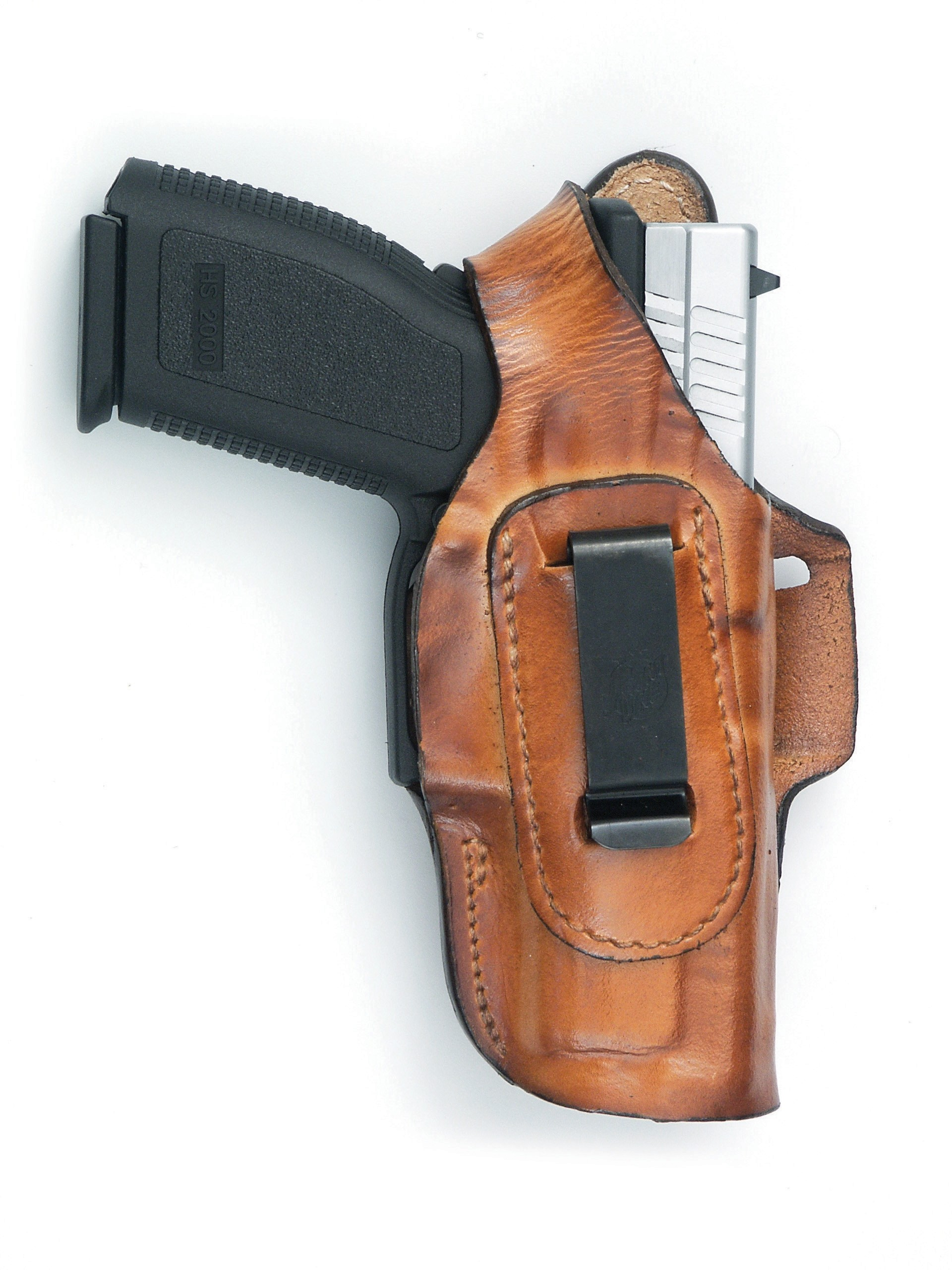 Fast-Draw Four Way Leather Holster