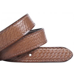 Basket Design Leather Belt