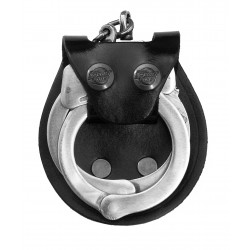 Leather Handcuff Case - 2 Snap close