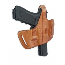 Fast-Draw Belt-Slide Leather Holster