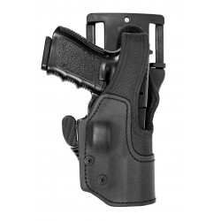 Low Ride Retention Holster with Thumb-Break & SR™ KNG