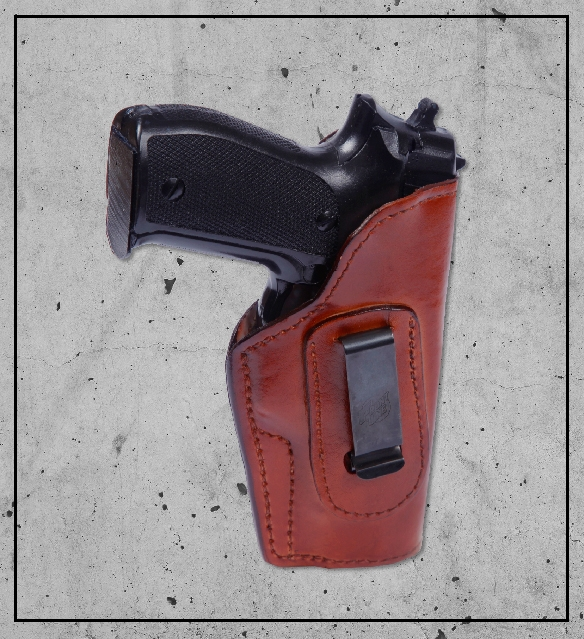 red holster